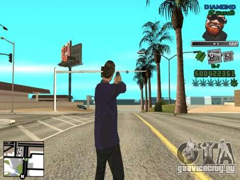 C-HUD by Misterio для GTA San Andreas третий скриншот