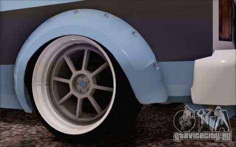 Regina Widebody V8 для GTA San Andreas вид сзади слева