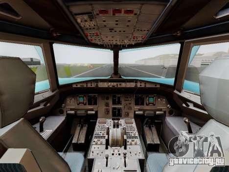 Airbus A320 Air China для GTA San Andreas вид справа