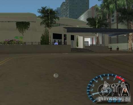 Спидометр из NFS Underground для GTA Vice City четвёртый скриншот