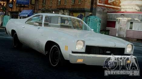 Chevrolet El Camino 1973 Old для GTA 4