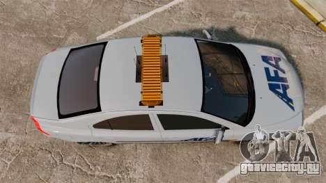 Volvo S60 AFA [ELS] для GTA 4 вид справа