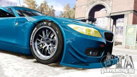 BMW Z4 GT3 2012 для GTA 4 вид изнутри
