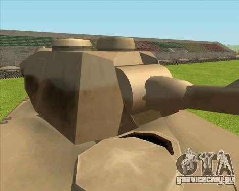Rhino tp.Elephant - 100.128mm для GTA San Andreas вид сзади слева