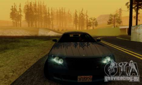 Fusilade GTA V для GTA San Andreas вид сбоку