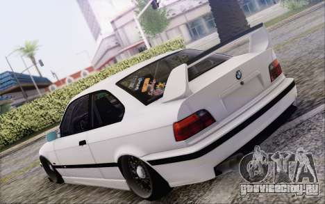 BMW M3 E36 Hellaflush для GTA San Andreas вид слева