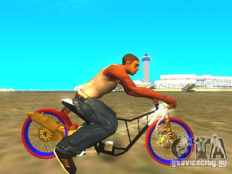 Drag Mio Full GOLD для GTA San Andreas вид справа