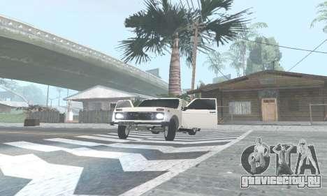ВАЗ 21214 Avtosh для GTA San Andreas вид слева