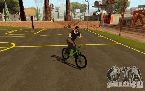 Street MTB (Мягкая вилка) для GTA San Andreas вид справа