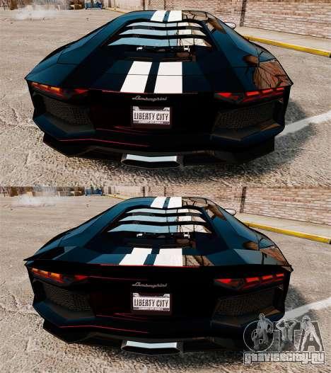 Lamborghini Aventador LP700-4 2012 [EPM] NFS для GTA 4 вид сверху