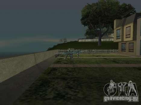Новый Пак Оружий для GTA San Andreas пятый скриншот