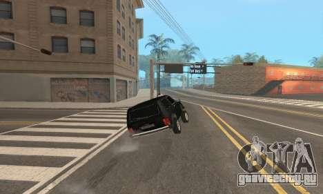 ВАЗ 21214 Avtosh для GTA San Andreas вид сверху