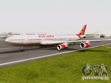 Boeing 747 Air India для GTA San Andreas