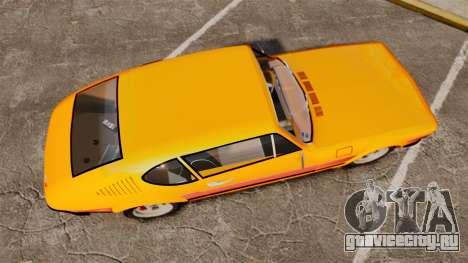 Volkswagen SP2 для GTA 4 вид справа