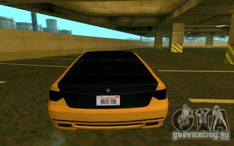 Ubermacht Oracle из GTA V для GTA San Andreas вид сзади слева