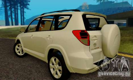 Toyota RAV4 для GTA San Andreas вид сзади слева
