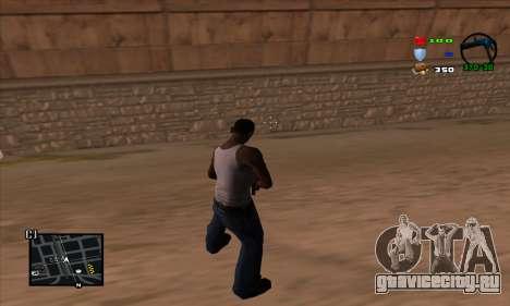 C-HUD Lite для GTA San Andreas второй скриншот