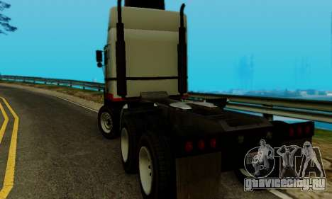 Hauler GTA V для GTA San Andreas вид слева