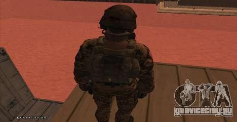 Global Defense Initiative Soldier для GTA San Andreas седьмой скриншот