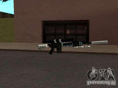 Новый Пак Оружий для GTA San Andreas третий скриншот