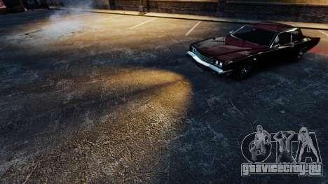 Оранжевый свет фар для GTA 4