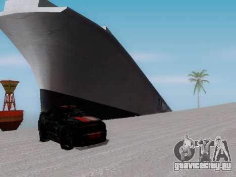 Затонувший корабль для GTA San Andreas четвёртый скриншот