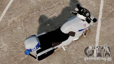 BMW R1150RT Police nationale [ELS] v2.0 для GTA 4 вид справа