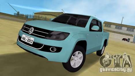 Volkswagen Amarok 2.0 TDi AWD Trendline 2012 для GTA Vice City