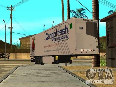 Schmitz для GTA San Andreas вид сзади слева