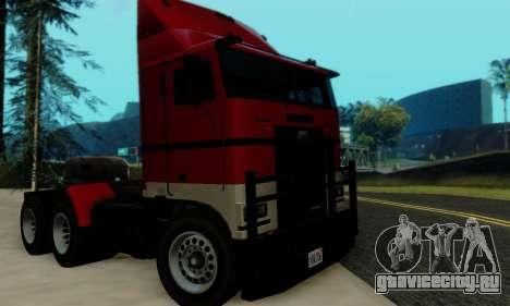 Hauler GTA V для GTA San Andreas вид справа