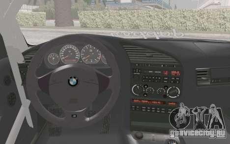 BMW M3 E36 Hellaflush для GTA San Andreas вид справа