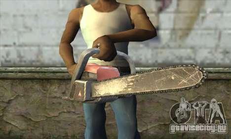 Бензопила для GTA San Andreas третий скриншот