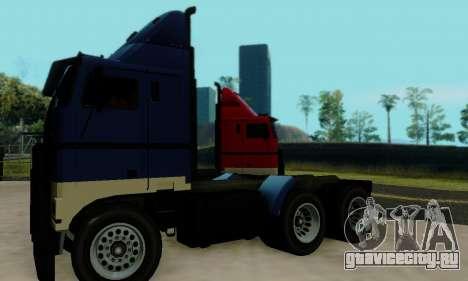 Hauler GTA V для GTA San Andreas вид сзади