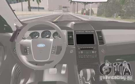 Ford Taurus Police для GTA San Andreas вид сбоку