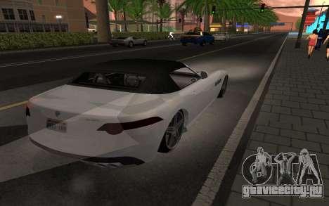 Benefactor Surano GTA V для GTA San Andreas вид слева