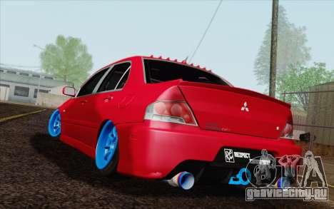Mitsubishi Lancer MR Edition для GTA San Andreas вид слева