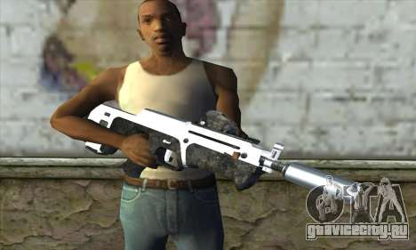 F6 Assault Rifle для GTA San Andreas третий скриншот