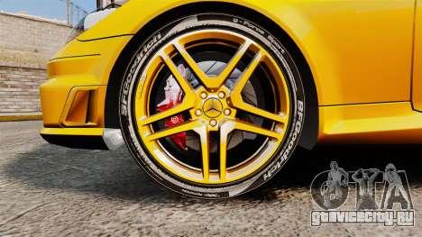 Mercedes-Benz SLK 55 AMG 2014 v1.4 для GTA 4 вид сзади