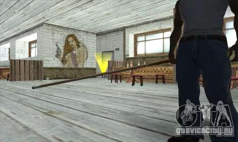 Pool cue для GTA San Andreas третий скриншот