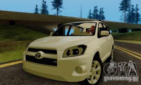 Toyota RAV4 для GTA San Andreas вид слева