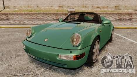 Porsche 911 Speedster для GTA 4