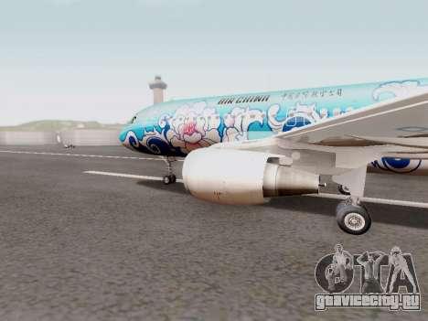 Airbus A320 Air China для GTA San Andreas вид слева