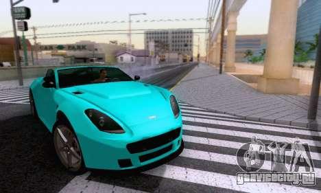 GTA V Rapid GT Cabrio для GTA San Andreas вид сбоку
