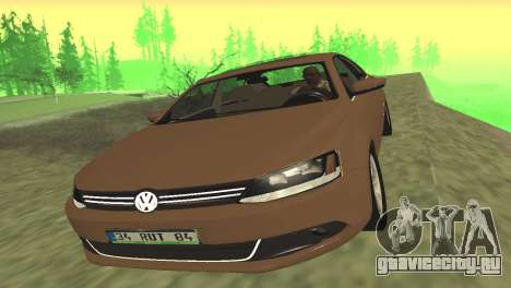 Volkswagen Jetta 1.4 2013 TSI Highline для GTA San Andreas вид слева
