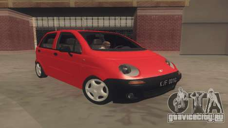 Daewoo Matiz I SE 1998 для GTA San Andreas вид слева