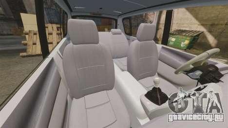 Renault Espace Police Nationale [ELS] для GTA 4 вид сбоку
