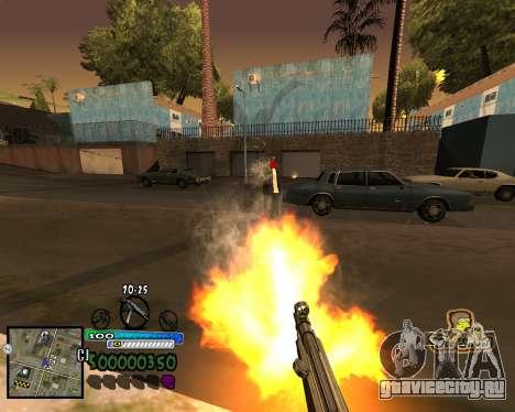 Вид от первого лица для GTA San Andreas