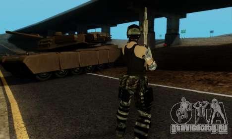 SWAT GIRL для GTA San Andreas шестой скриншот