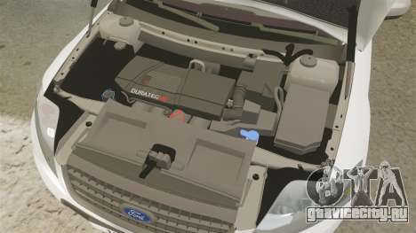 Ford Mondeo Croatian Police [ELS] для GTA 4 вид изнутри