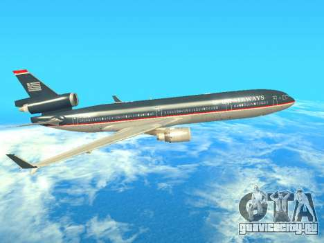 McDonnell Douglas MD-11 US Airways для GTA San Andreas